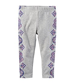 Carter's® Baby Girls' Side Print Capri Pants