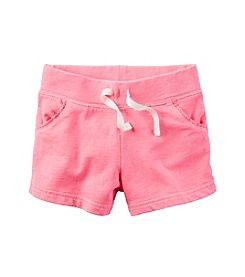 Carter's® Baby Girls' Drawstring Shorts