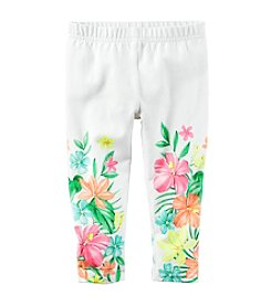 Carter's® Baby Girls' Floral Capri Pants