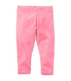 Carter's® Baby Girls' Solid Capri Pants