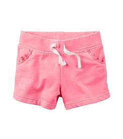 Carter's® Girls' 2T-8 French Terry Shorts