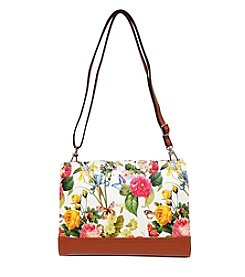 GAL Printed Top Zipper Small Crossbody