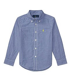 Polo Ralph Lauren® Boys' 2T-7 Poplin Shirt