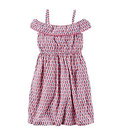 Carter's® Girls' 2T-6X Printed Maxi Poplin Dress
