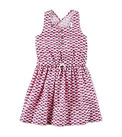 Carter's® Girls' 2T-8 Criss Cross Back Dress