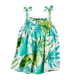 Carter's® Girls' 2T-8 Floral Print Tank Top