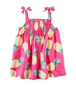 Carter's® Girls' 2T-8 Pineapple Print Tank Top