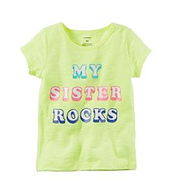 Carter's® Girls' 2T-6X My Sister Rocks Tee