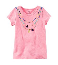 Carter's® Girls' 2T-8 Puff Screenprint Tee