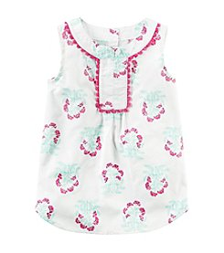 Carter's® Girls' 2T-8 Floral Print Tunic