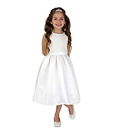 Lavender Girls' 4-14 Popover Ruffled Dress