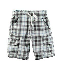 Carter's® Baby Boys Plaid Cargo Shorts