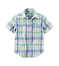Carter's® Baby Boys Plaid Woven Shirt