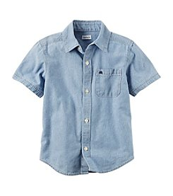 Carter's® Baby Boys Chambray Woven Shirt