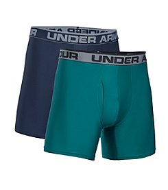 Under Armour® Men's 2-Pack 6' O Series Boxer Briefs