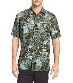 Van Heusen® Men's Oasis Palm Printed Dobby Point Collar Shirt
