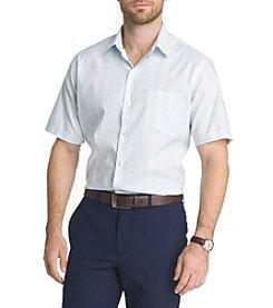 Van Heusen® Men's White Washed Stripe Print Button Down