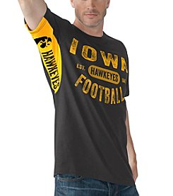 G III NCAA® Iowa Hakeyes Men's Short Sleeve Tee
