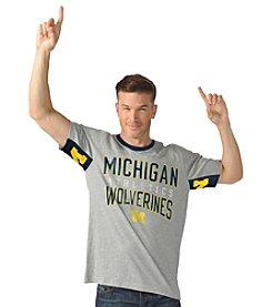 G III NCAA® Michigan Wolverines Men's Cutback Tee