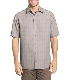 Van Heusen® Men's Big & Tall Rayon Poly Short Sleeve Button Down