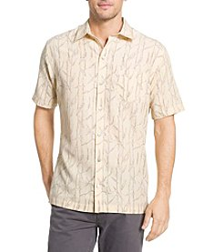Van Heusen® Men's Big & Tall Poly Print Short Sleeve Button Down