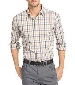 Van Heusen® Men's Big & Tall Long Sleeve Flex Woven Button Down
