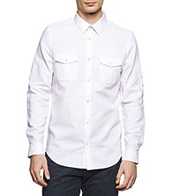 Calvin Klein Men's Modern Fit Button Down Shirt