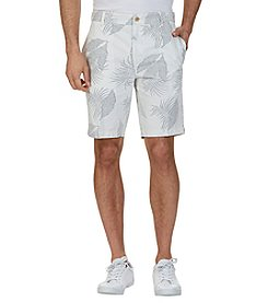 Nautica® Men's Leaves Print Shorts