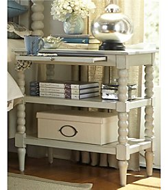 Liberty Furniture Harborview Dove Gray Open Night Stand