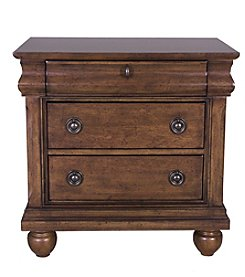 Liberty Furniture Rustic Traditions Cherry Night Stand