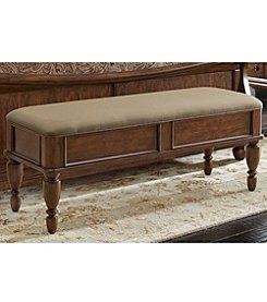 Liberty Furniture Rustic Traditions Cherry Bench