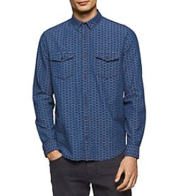 Calvin Klein Jeans® Men's Dash Dobby Shirt
