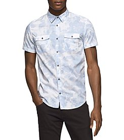 Calvin Klein Jeans® Men's Floral Shadow Print Shirt