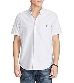 Polo Ralph Lauren® Men's Short Sleeve Oxford Button Down Shirt