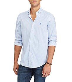 Polo Ralph Lauren® Men's Long Sleeve Stretch Poplin Button Down