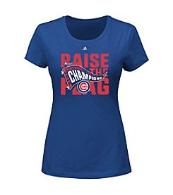 Majestic MLB® Chicago Cubs Women's League Champs Tee