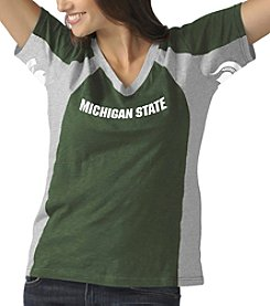 G III NCAA® Michigan State Spartans Women's Sideline Tee