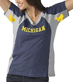 G III NCAA® Michigan Wolverines Women's Sideline Tee