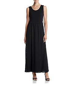 Calvin Klein Lace Skirt Maxi Dress