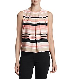Tommy Hilfiger® Pleated Striped Cami