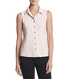 Tommy Hilfiger® Button Front Blouse