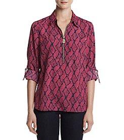MICHAEL Michael Kors® Mamba Printed Zip Tunic