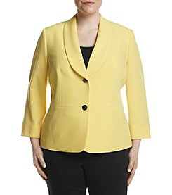 Kasper® Plus Size Shawl Collar Jacket