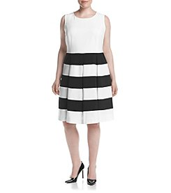 Nine West® Plus Size Striped Dress