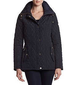 MICHAEL Michael Kors® Quilted Stand Collar Jacket