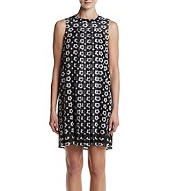 Lennie Daisy Printed Mesh Dress