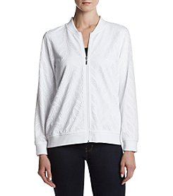 Alfred Dunner® Mesh Textured Jacket