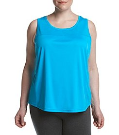 Exertek® Plus Size Pieced Mesh Tank