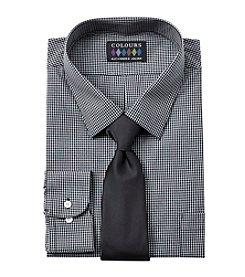 Alexander Julian® Men's Big & Tall Dress Shirt And Tie Set
