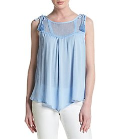 Democracy Splice Yoke Peasant Top
